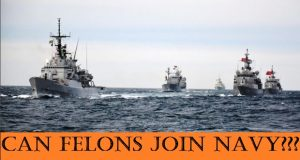 can felons join the navy