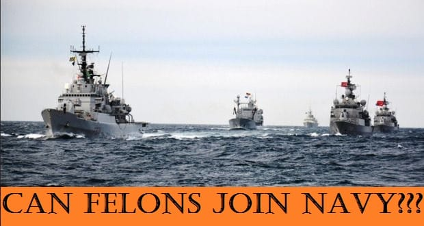 can you join the Navy with a felony