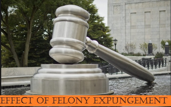 Effect Of Felony Expungement: