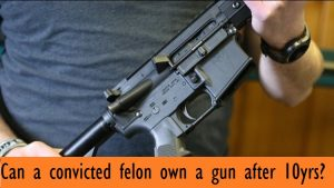 Is It Possible for Felons to be Granted Firearm Rights?