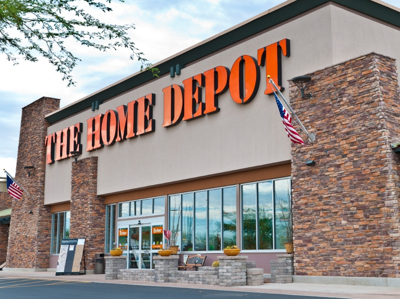 home depot background check