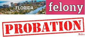 florida felony probation rules