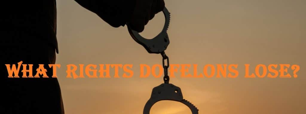 What rights do felons lose