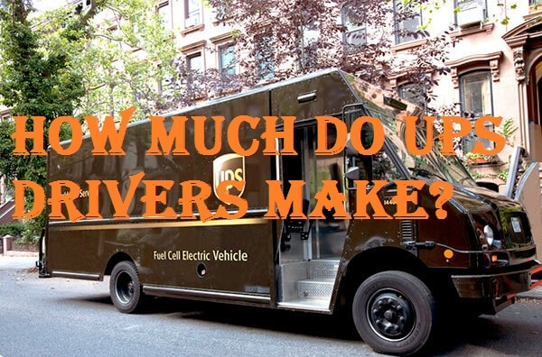 How Much Do Ups Drivers Make