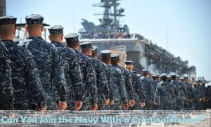 Can You Join the Navy With a Criminal Record