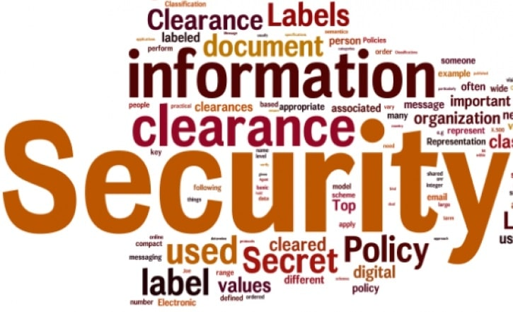 background check for a security clearance