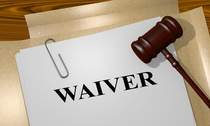 How will the waiver process happen