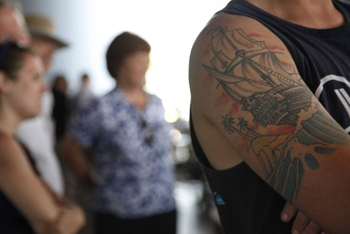 What's wrong with tattoos?
