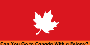 Can You Go to Canada With a Felony Conviction on your Record?